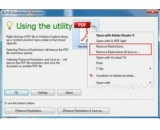 A-PDF Restrictions Remover下载(PDF密码破解器)V1.7.0.0最新官方版